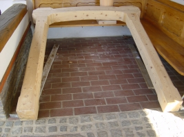 Fichtenholzstock aus 100 jähriger Fichte